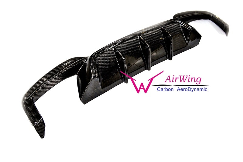 BMW F06F12F13 M6 Performance style carbon rear diffuser 4
