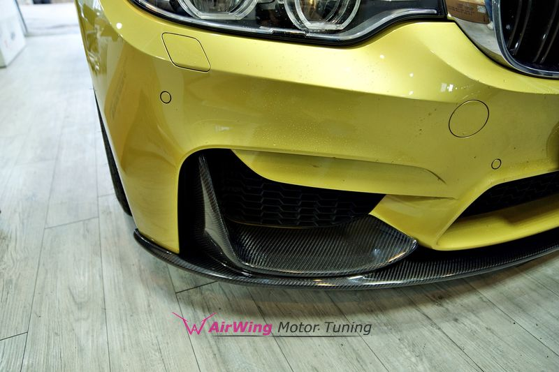 BMW F30 M3-F32 M4 Performance carbon front lip 02