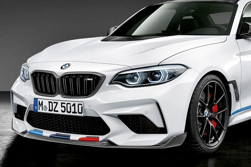 BMW F87 M2 LCI- Performance style Carbon Front Lip 01