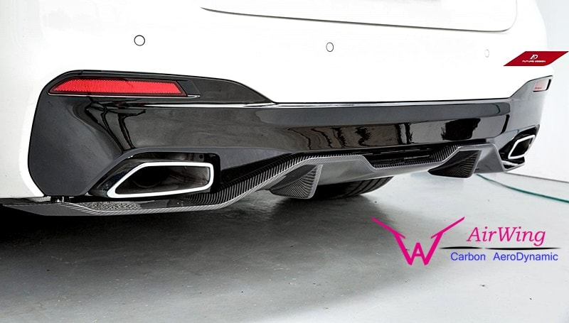 /BMW G30- Performance carbon rear diffuser 03