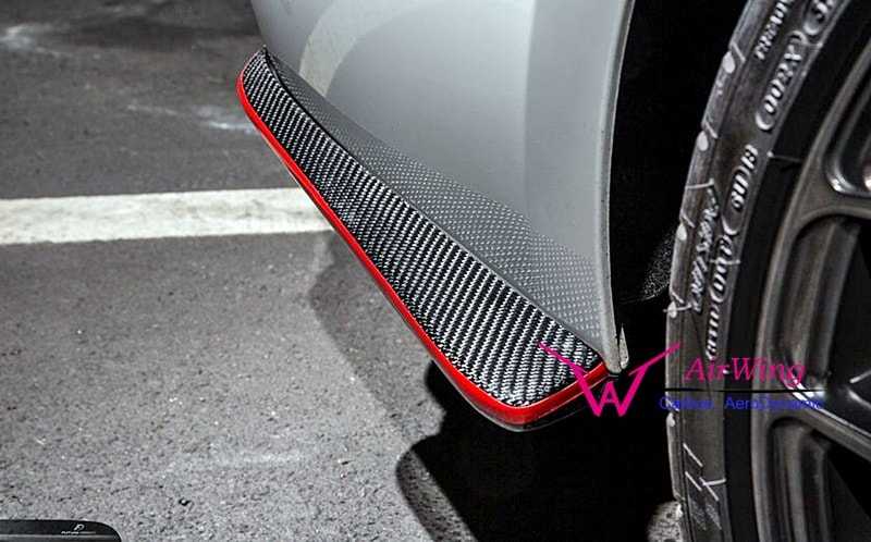 F32 F33 F36 – Future Design carbon Rear bumper splitter 05