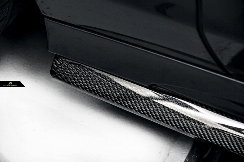 W218 Facelift – AirWing Carbon Side Skirt Extension 04