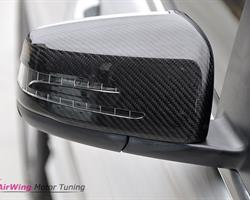 W218 - AMG style carbon mirror cover