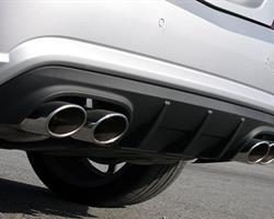 R172 SLK55 – AirWing style Carbon Rear Diffuser