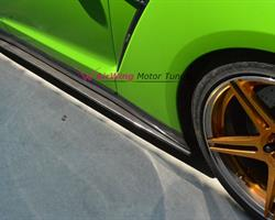 Nissan GTR R35 - AirWing style Carbon Side Skirt Splitter