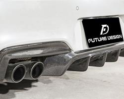 F06 F12 F13 M6 – Performance style Carbon Rear Diffuser