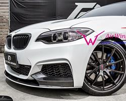 F22 –Performance style Carbon Front Lip Spoiler