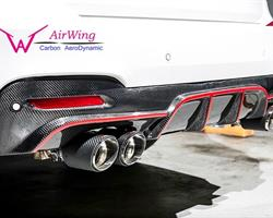 F34 3-Series GT - Performance style Carbon Rear Diffuser