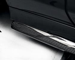 W218 CLS – AirWing Carbon Side Skirt Splitter