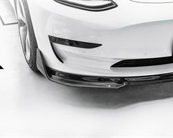 MODEL3 - Future Design S1 Carbon Front Lip Spoiler